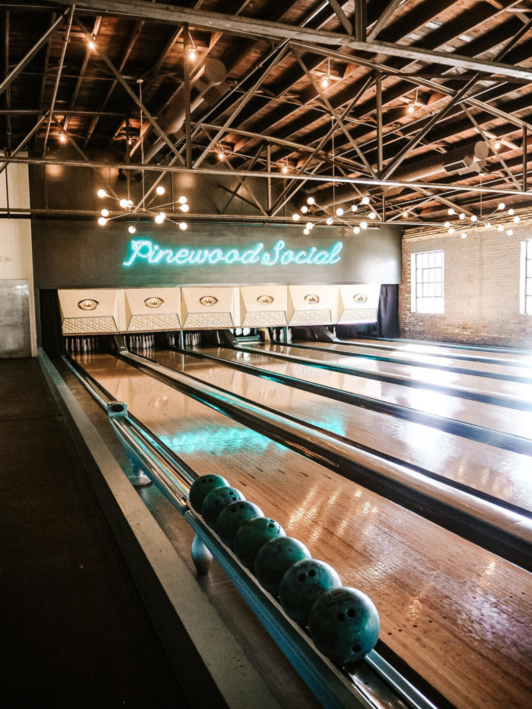 A guide to the best photo spots in Nashville , by My Meraki Travel, Pinewood Social